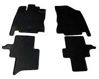 Infiniti JX 2012↗ рр. Гумові килимки (4 шт, Stingray Premium)
