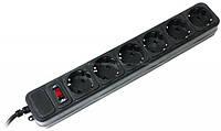 Сетевой фильтр черный PowerCube SPG3-B-15, 5 розеток, 4,5 метра,, фото 1