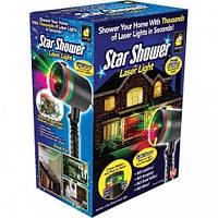 Проектор лазерный для улицы или дома, праздничный новогодний Star Shower Old проекторы