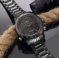 Чоловічі Водонепроникні годинники Naviforce Army з Підсвічуванням ОРИГІНАЛ 100%, фото 1