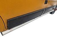 Nissan Primastar 2002-2014 гг. Боковые пластиковые пороги (2 шт, под покраску)