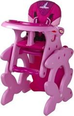 Стульчик-трансформер для кормления Caretero Primus, цвет pink - BabyPro в Днепре