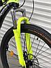 ✅ Двухподвесный Горный Велосипед TopRider 910 ALUXX 26 ДЮЙМ Стальная Рама 17 Черно-Зеленый, фото 10
