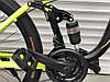 ✅ Двухподвесный Горный Велосипед TopRider 910 ALUXX 26 ДЮЙМ Стальная Рама 17 Черно-Зеленый, фото 9