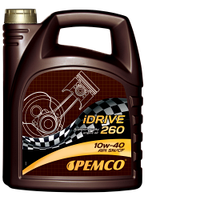 Полусинтетическое моторное масло Pemco iDrive260 SAE 10W-40 API SN/CF 4л