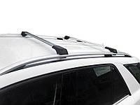 BMW 3 серия E-90/91/92/93 2005-2011 гг. Поперечены на рейлинги без ключа (2 шт) Серый