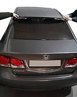 Honda Civic Sedan VIII 2006-2011 гг. Спойлер на стекло (черный, ABS)