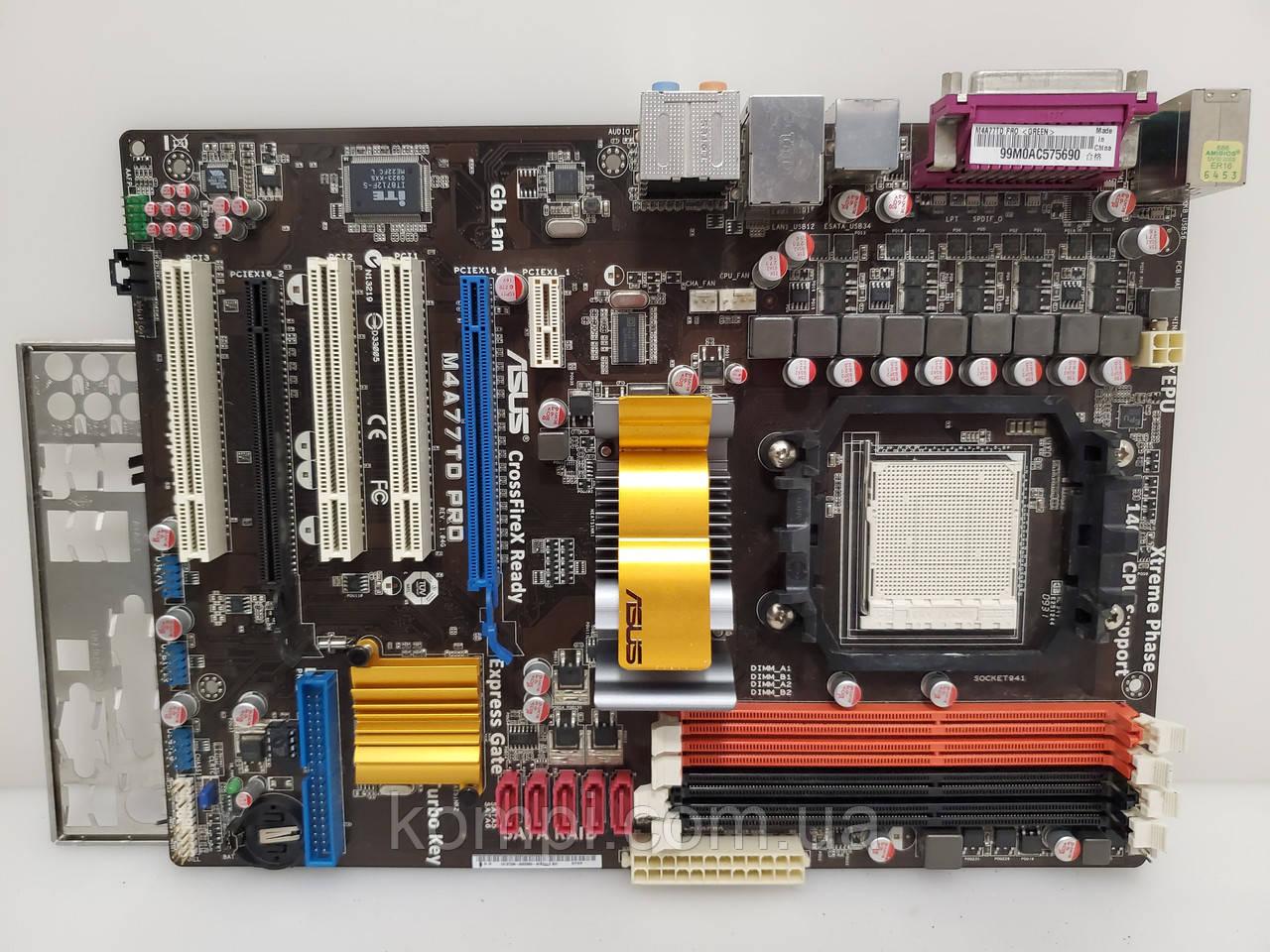 Материнская плата Asus M4A77T PRO AM3 DDR3