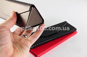 Треугольный компактный футляр для очков. Складной-раскладной, фото 2