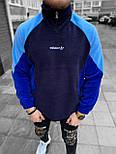 Кофта Чоловіча кофта під спортивки (чорна) з кишенями, фото 2
