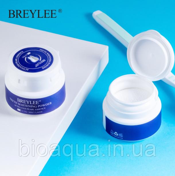 Пудра порошок для очистки и отбеливания зубов BREYLEE Teeth Whitening Powder 30g