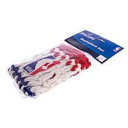 Сетка баскетбольная SPALDING (полиэстер, 12 петель, цвет бело-красно-синий, в компл. 1шт, вес 220гр), фото 2