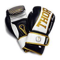 Перчатки боксерские THOR THUNDER 12oz /Кожа /черные, фото 1