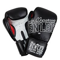 Перчатки боксерские Benlee ROCKLAND 16oz /Кожа /черно-белые, фото 1