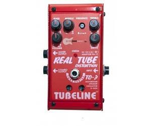 Педаль для электрогитары ламповая Tubeline TD3 Real Tube Distortion