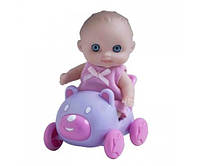 Пупс JC Toys Малыш с машинкой (JC16912-7)