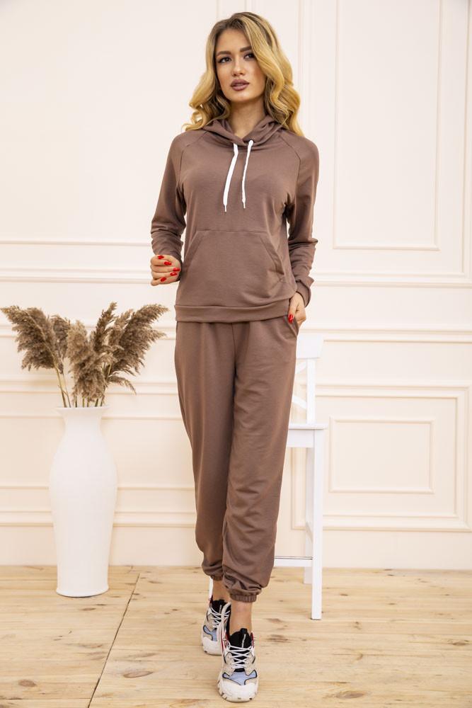 Спорт костюм женский 129R1467 цвет Бежевый