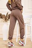 Спорт костюм женский 129R1467 цвет Бежевый, фото 5