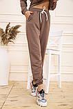 Спорт костюм женский 129R1467 цвет Бежевый, фото 6