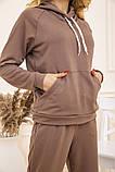 Спорт костюм женский 129R1467 цвет Бежевый, фото 7