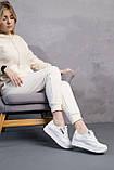 Женские кроссовки кожаные весна/осень белые Emirro R17 White Edition, фото 6