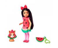 Кукла Barbie Club Chelsea Сказочный наряд арбуз (GHV69/GHV71), фото 1