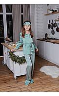 """Пижама """"венеция"""" мята размер 116 Mililook"""