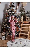 """Пижама """"венеция"""" розовая размер 116 Mililook"""
