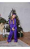 """Пижама """"венеция"""" фиолетовая размер 116 Mililook"""