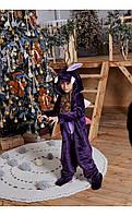 """Пижама кигуруми """"динозавр"""" фиолетовый размер 116 Mililook"""