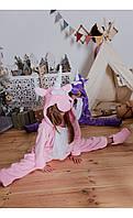 """Пижама кигуруми """"единорог"""" светло-розовый размер 116 Mililook"""