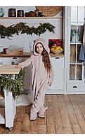 """Пижама кигуруми """"кот"""" пудра размер 116 Mililook"""