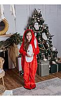 "Пижама кигуруми ""кролик"" красный размер 116 Mililook"