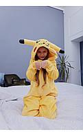 """Пижама кигуруми """"пикачу"""" размер 116 Mililook"""