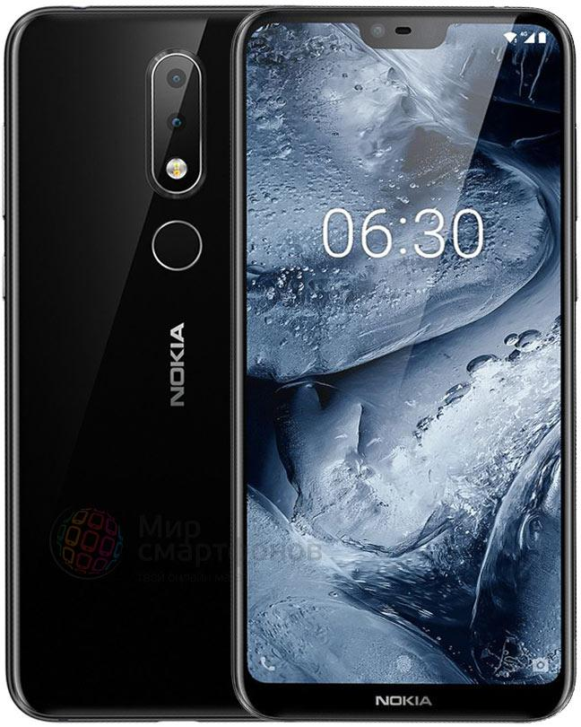 Nokia 6.1 Plus TA-1116 4/64Gb black