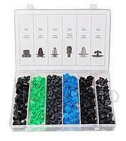 Набор клипс 300 предметов (VAUXHALL/OPEL), пластиковом органайзере Forsage F-01Z0240