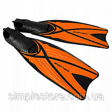 Ласты для плавания, дайвинга, снорклинга SportVida SV-DN0006-L размер 42-43 Black/Orange - Love&Life