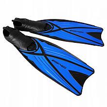 Ласты для плавания, дайвинга, снорклинга SportVida SV-DN0005-S размер 38-39 синие - Love&Life