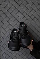 Мужские кроссовки кожаные весна/осень черные Emirro JD, фото 3