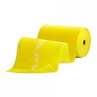 Эластичная лента-эспандер для спорта и реабилитации 4FIZJO Flat Band 30 м 1-2 кг. Ленточный эспандер