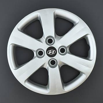 Колпаки R14 Hyundai под болты (разболтовка 4*100) A112 (эмблема на скотче)