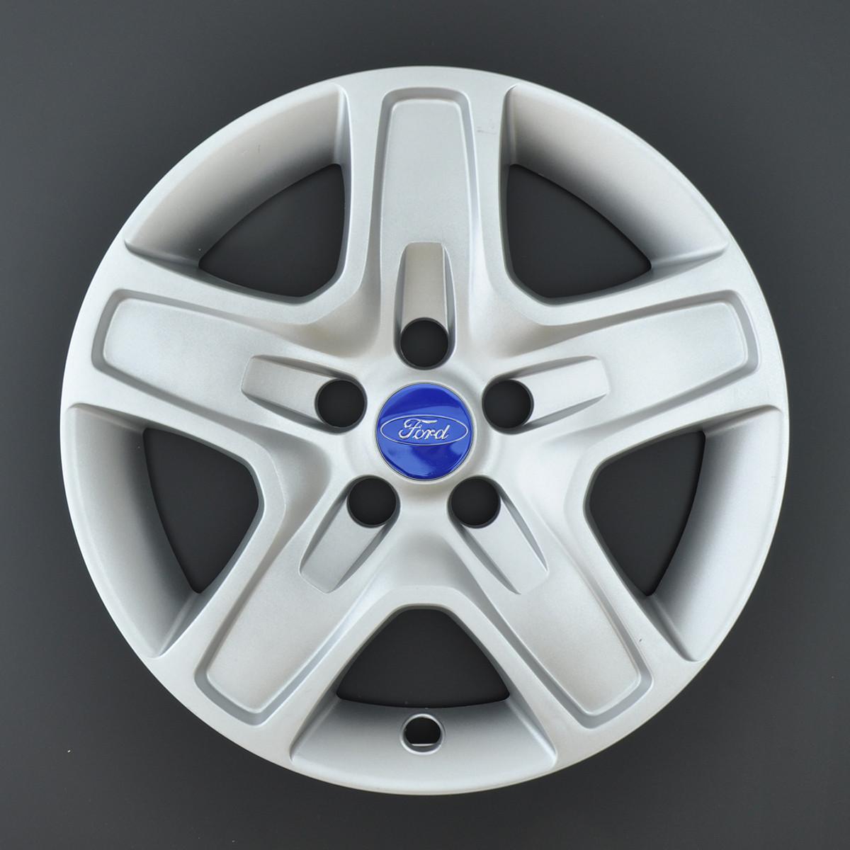 Колпаки R16 Ford Focus под болты (разболтовка 5*108) A143 (эмблема скотч)