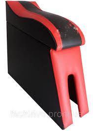 Підлокітник мод. LADA 2101-06 червоний БЕЗ ЛОГО NEW (изогн. під руку)