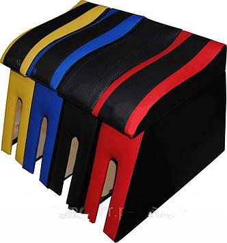 Підлокітник мод. LADA 2101-06 синій БЕЗ ЛОГО NEW (изогн. під руку)