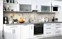 Скинали на кухню Zatarga «Французский кондитер» 650х2500 мм виниловая 3Д наклейка кухонный фартук
