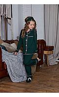 """Пижама """"верона"""" изумрудная размер 116 Mililook"""