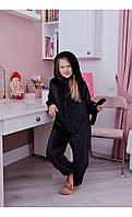 """Пижама кигуруми """"кот"""" черный размер 116 Mililook"""