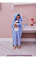 "Пижама кигуруми ""кролик"" голубой размер 116 Mililook"