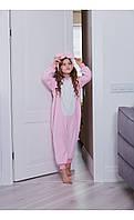 "Пижама кигуруми ""кролик"" розовый размер 116 Mililook"