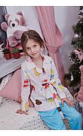 """Пижама верона """"мороженко"""" размер 116 Mililook"""